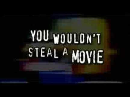 Från film som visas i början på många hyrfilmer